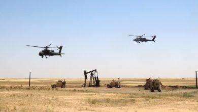 صورة بعد اعتراضه لدورية أمريكية.. التحالف الدولي يقصف حاجزا لقوات النظام السوري