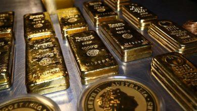 صورة مع صعود الدولار وعوائد السندات.. الذهب يهوي 2% بتغيير سياسة المركزي الأمريكي