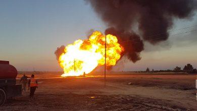صورة انفجار يتسبب بانقطاع الكهرباء عن جميع أنحاء سوريا