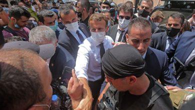 صورة ماكرون يحذر من اندلاع حرب أهلية في لبنان