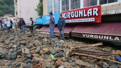 صورة بسيول وانهيارات أرضية.. مصرع 4 أشخاص في تركيا