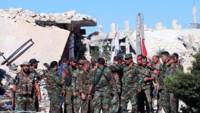 صورة قتلى وجرحى بانفجار عبوة ناسفة وسط سوريا