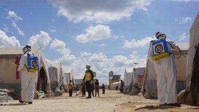 صورة ارتفاع عدد الإصابات بفيروس كورونا في الشمال السوري