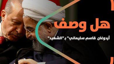 """صورة جدل كبير.. هل وصف """"أردوغان"""" """" قاسم سليماني"""" بـ""""الشهيد"""" خلال اتصال مع روحاني"""