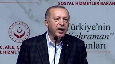 صورة الرئيس التركي رجب طيب #أردوغان يدعو اليونان لفتح أبوابها أمام المهاجرين