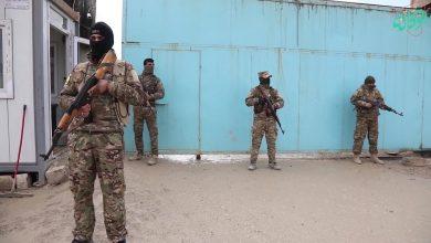 صورة عصيان وتمرد عناصر داعش في سجن الحسكة