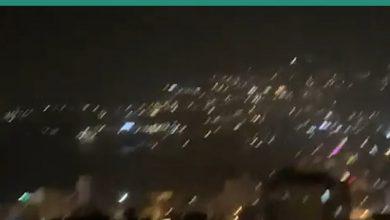 صورة مقاطع متداولة لقصف إسرائيلي استهدف مطار الشعيرات قرب حمص