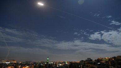 صورة ضربات إسرائيلية تستهدف مواقع لقوات النظام السوري