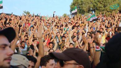 صورة إحياء سنوية استشهاد الساروت في إدلب