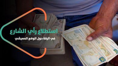 صورة آراء الناس عن ارتفاع الأسعار في #الرقة