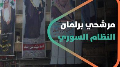 صورة سخرية واسعة تطال مرشحي برلمان النظام السوري