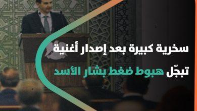 """صورة """"عين الحاسد الله يحرقا نموت ويبقى صحة الأسد"""".. سخرية كبيرة بعد إصدار أغنية تبجّل هبوط ضغط بشار الأسد"""