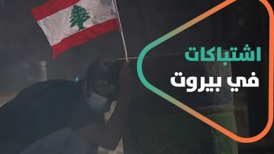 صورة تعليق مشانق للرئيس اللبناني ولحسن نصر الله ولقادة سياسيين.. ماذا يجري في لبنان؟