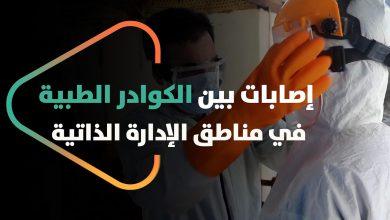 صورة إصابات بين الكوادر الطبية ومخاوف من ضعف الاستعدادات الطبية لفيروس كورونا في مناطق الإدارة الذاتية