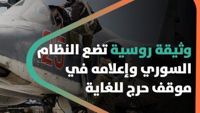 صورة تتعلق بشراء أراضٍ.. وثيقة روسية تضع النظام السوري وإعلامه في موقف حرج للغاية