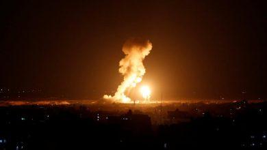صورة إسرائيل تقصف مطار التيفور في حمص
