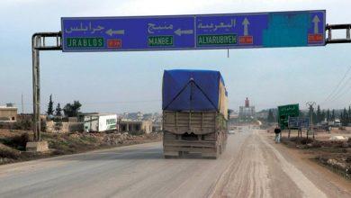 صورة فتح معبري الطبقة ومنبج شمال شرق سوريا