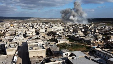 صورة قتلى من القوات الإيرانية بقصف مجهول شرق سوريا