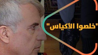 """صورة """"خلصوا الأكياس""""… سوريون يطلقون حملة سخرية من وزير دفاع النظام السوري """" علي أيوب """""""