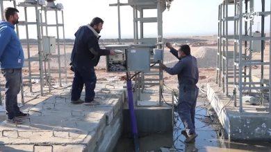 صورة إنطلاق أحد أكبر مشاريع الطاقة الكهربائية على مستوى سوريا في الحسكة
