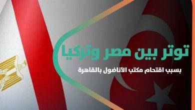 صورة توتر بين مصر وتركيا بسبب اقتحام مكتب الأناضول بالقاهرة.