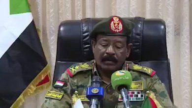 صورة بيان عسكري يغلق محلات الشيشة والتجمعات في الخرطوم