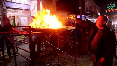 صورة في القامشلي شعلة نوروز باقية رغم إجراءات الوقاية الصحية