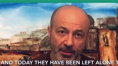 صورة جهاد عبده يناشد المجتمع لإنقاذ سوريا من كورونا