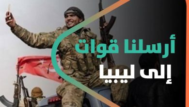 صورة قيادي في الجيش الوطني السوري يثير الجدل أرسلنا قوات إلى ليبيا ونحن فداء للخلافة العثمانية