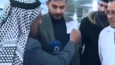 صورة بينما كان يشتكي من قلة الخدمات الصحية.. وفاة عراقي خلال لقاء تلفزيوني مباشر
