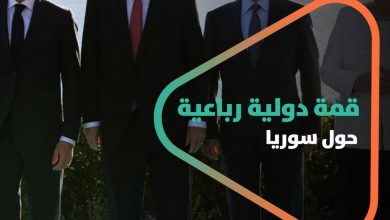 صورة الإعلان عن قمة دولية رباعية حول سوريا