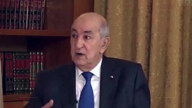 """صورة الرئيس الجزائري يدعو لعودة سوريا إلى الجامعة العربية ..و """" سوريا التي لم تطبّع لن تسقط """""""