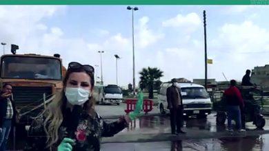 صورة تعقيم دواليب السيارات في مداخل مدينة حلب للوقاية من كورنا.. إجراء شكلي أم إجراء مفيد