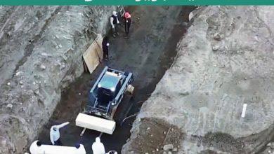 """صورة مشاهد قاسية التقطت لعمليات دفن جماعية لضحايا كورونا في """"جزيرة الموتى"""" بنيويورك"""