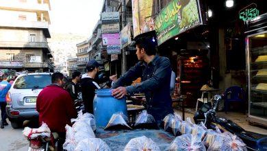 صورة أجواء شهر #رمضان في أسواق مدينة إدلب