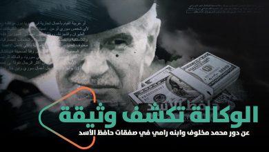 صورة الوكالة تكشف وثيقة مسرّبة عن دور محمد مخلوف وابنه رامي في صفقات حافظ أسد