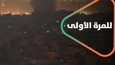 صورة للمرة الأولى قصف إسرائيلي على مدينة حلب .. ماذا استهدف القصف؟