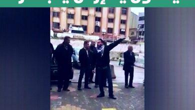 """صورة """"يلا ارحل يا بشار"""" في ساحة السويداء"""