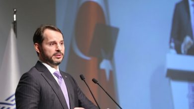 وزير الخزانة والمالية التركي براءت ألبيراق