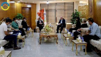 صورة سوريا.. لقاء بين الإدارة الذاتية والمبعوث البريطاني الخاص لسوريا مارتن لونغدن