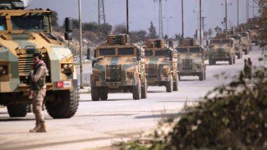 صورة تركيا تدفع بتعزيزات عسكرية ضخمة إلى إدلب