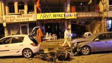 صورة انفجار وإطلاق نار جنوب تركيا (فيديو)
