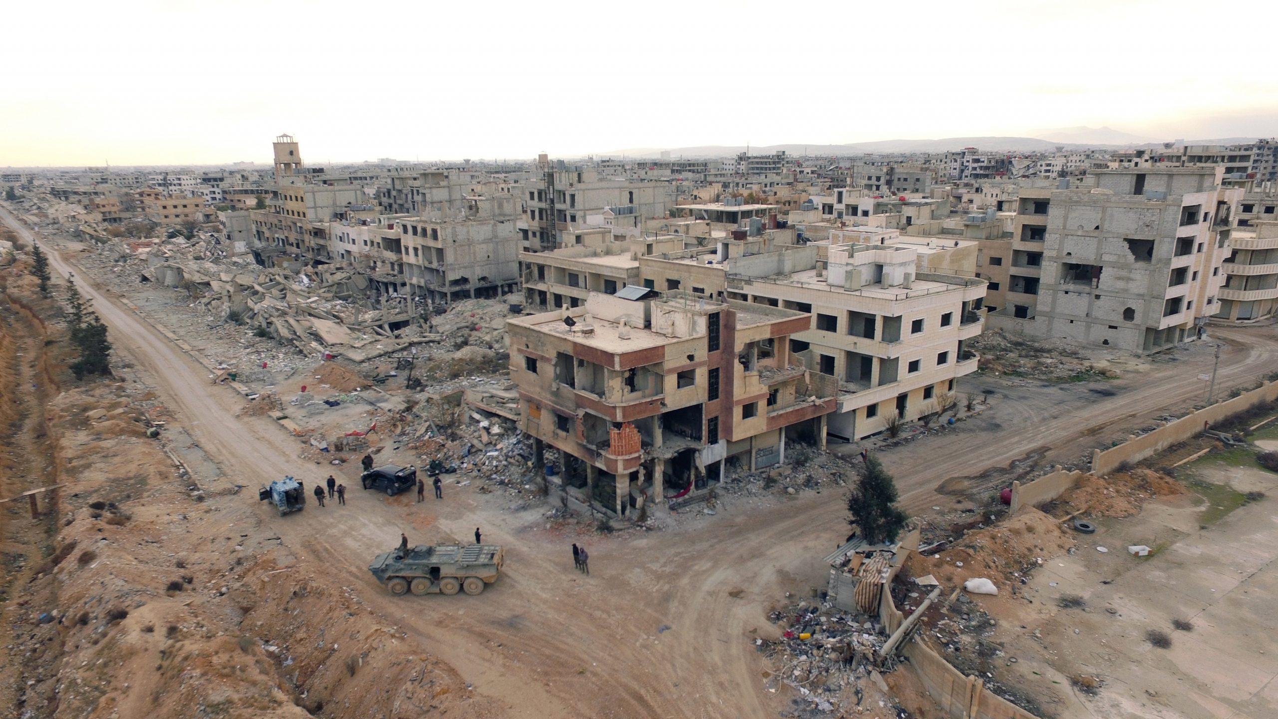 مدينة داريا بريف دمشق
