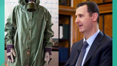 صورة تقرير يكشف عن مساع يبذلها النظام السوري لتعزيز ترسانته الكيماوية