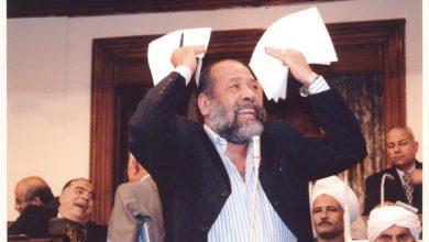 صورة بعد إعلان فوز زوجته في الانتخابات.. وفاة نائب سابق  في البرلمان المصري