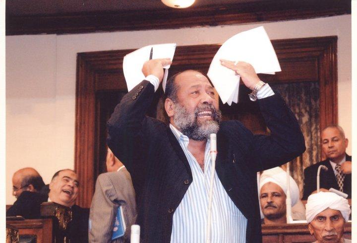 النائب المصري السابق عن دائرة سوهاج أحمد أبو حجي