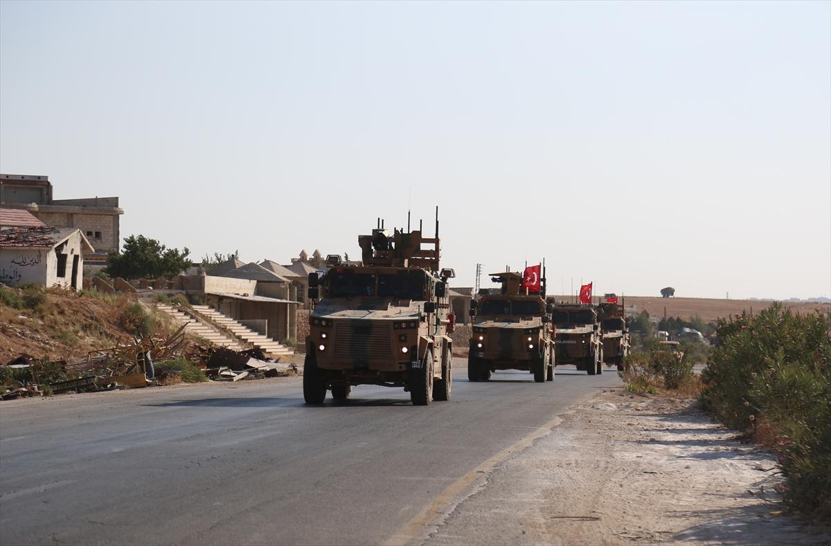 رتل للقوات التركية في سوريا