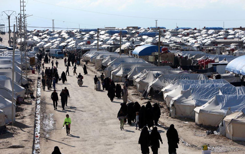 مخيم الهول