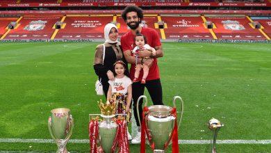 محمد صالح وعائلته
