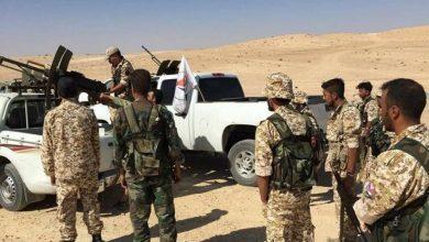 صورة اشتباكات عنيفة بين ميليشيا الدفاع الوطني والمخابرات الجوية التابعة للنظام السوري